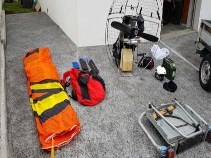ulm occasion  -  - Paramoteur H&E R120 et ITV BOXER L excellent etat,