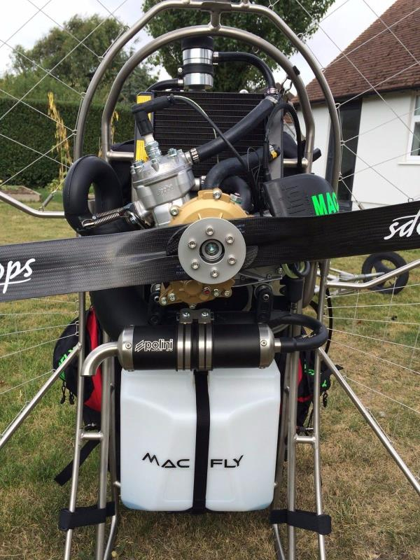 ulm occasion  -  - Mac Fly 130 Paramotor