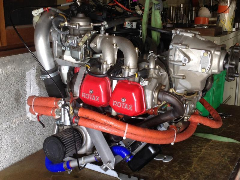 ulm  -  occasion - MOTEUR ROTAX 914 UL - ulm multiaxes occasion