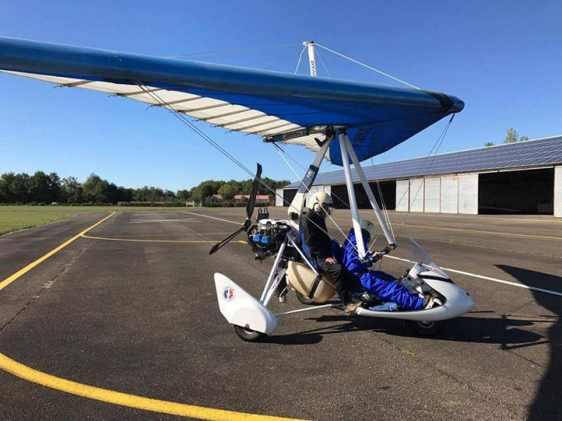ulm DTA - Voyageur 2 - Rotax 912s (100cv) - aile Dynamic 15_ occasion