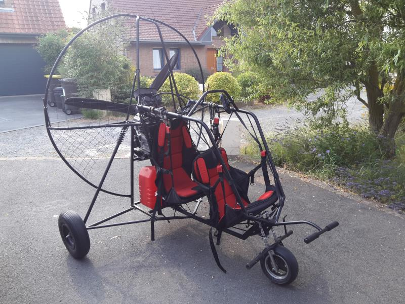 ulm  -  occasion - Chariot Paramoteur Biplace - ulm multiaxes occasion