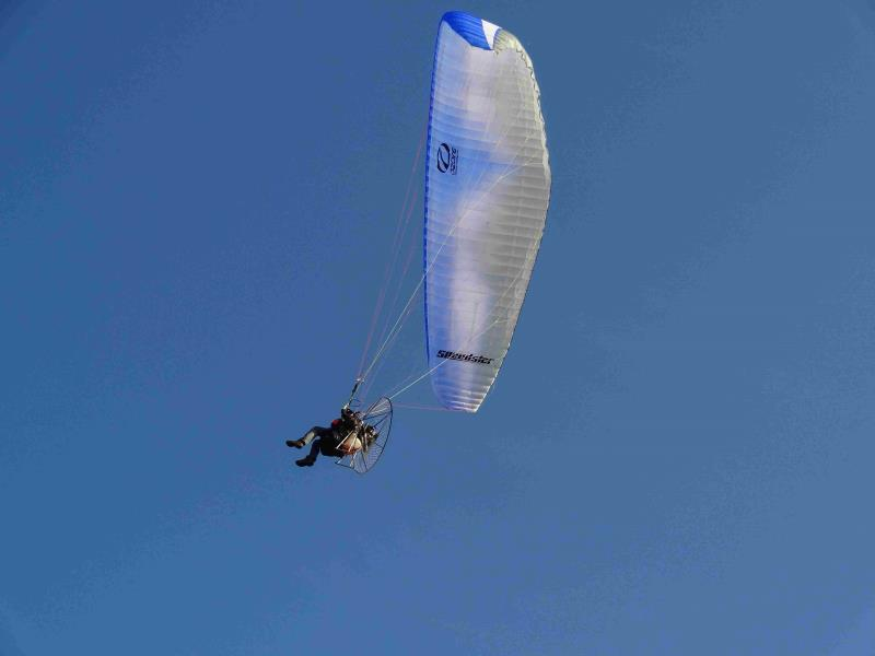 ulm  -  occasion - voile paramoteur ozone speedster 24 - ulm multiaxes occasion